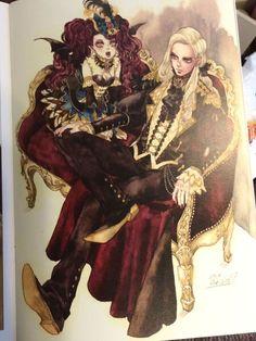 Sakizo Partner Vampire from Fantasy of the Dream