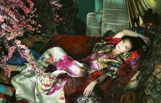 Zhao Wei for <em>Harpers Bazaar China</em> January 2011 by Feng Hai