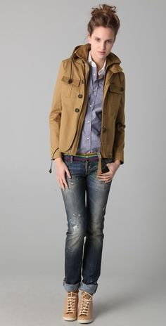 dsquared2 woodstock jacket
