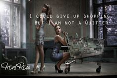 No....not a quitter!  www.frontrowec.com