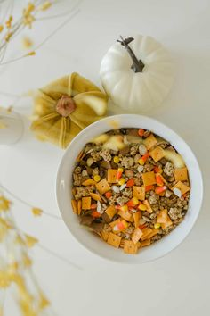 Make Your Own Autumn Trail Mix - A Beautiful Mess