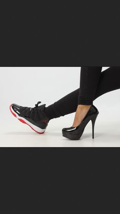 High heels and sneakers <3