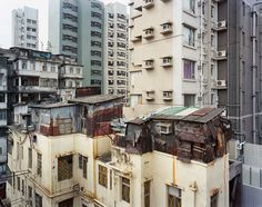 Insane rooftop village in Hong Kong
