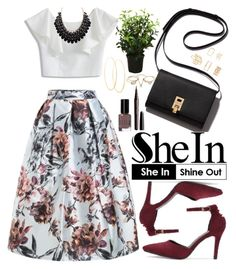 """""""Shein"""" by oshint ❤ liked on Polyvore featuring Chicwish, Bobbi Brown Cosmetics, Marc Jacobs, Brucs, Lana, Lipsy and Forever 21"""