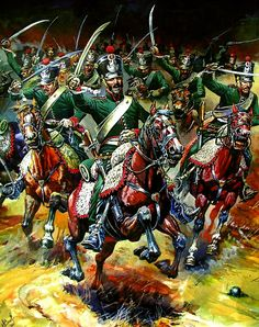 Art Pictures From the Napoleonic War Era Military Diorama, Military Art, Military History, Empire, Dragons, Battle Of Waterloo, Waterloo 1815, Seven Years' War, French History