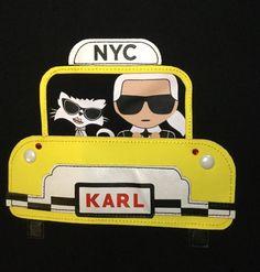 Cat Logo, Silver Rhinestone, Signature Logo, Kids Wear, Karl Lagerfeld, Cotton Spandex, Lunch Box, Nyc, Brand New