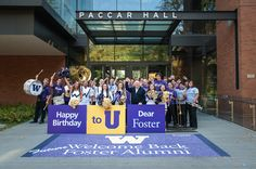 2012 marks 5 years of the Foster School name, and 95 years since we were founded!