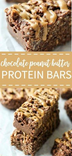 Crunchy, peanut-butter filled protein bars made with the new Kashi®️️ GOLEAN™️ Plant Powered Shakes are a sweet and perfect treat for breakfast, a snack, or pre/post workout meal. Plus they're gluten-free and vegan!