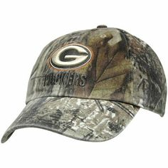 '47 Brand Green Bay Packers Clean Up Adjustable Hat - Realtree Camo