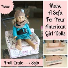 Make American Girl Sofa