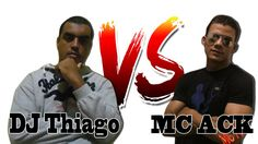 Batalha de Rap-DJ Thiago VS MC ACK