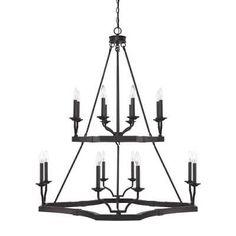 """Capital Lighting 419801BI Ravenwood 16 Light 38-1/2"""" Wide Chandelier"""
