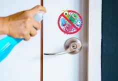 Mutfak Temizliğinizi Kolaylaştıracak Yöntemler - Sağlık Paylaşımları Door Handles, Cleaning, Door Knobs, Home Cleaning, Door Knob