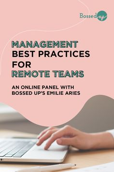 With COVID-19 sweeping the globe, many leaders are managing remote teams for the first time. Join our panel of experts to learn best practices for making the most of this virtual work arrangement. #remotework