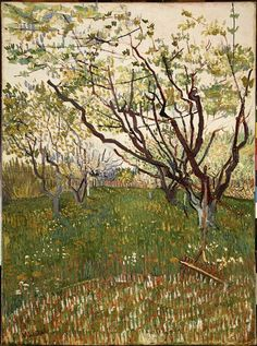 Vincent van Gogh, The Flowering Orchard, 1888