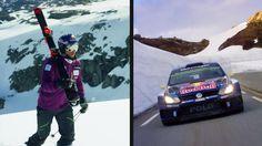 Burning Rubber and Jumping Road Gaps w/ Svindal and Mikkelsen