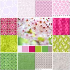 Spring Time Fabric Palette