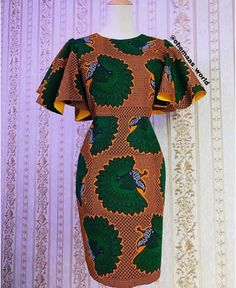 2019 Lovely Ankara Short Gown Styles for African Ladies - Brenda O. 2019 Lovely Ankara Short Gown Styles for African Ladies - Short African Dresses, Ankara Short Gown Styles, Trendy Ankara Styles, Short Gowns, African Print Dresses, Ankara Gowns, Short Styles, Nigerian Ankara Styles, African Dress Styles