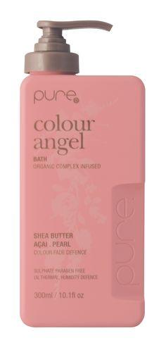 hairjamm, pure, colour angel bath, hair, haircare, shea butter, açai, pearl, colour fade defence, sulphate free, paraben free, australian made, JuuceAustralia