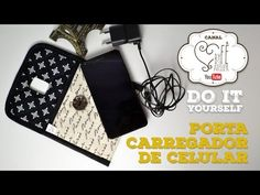 DIY ::: Carregador Porta Celular - By Fê Atelier - YouTube