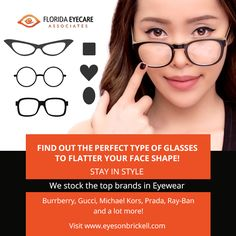 Brickell Miami, Types Of Glasses, Direct Mail, Marketing Program, Face Shapes, Eyewear, Attitude, Favorite Things, Suit