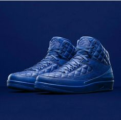 Don C x Air Jordan 2...all things blue what's not to love #fortheloveofsneakers