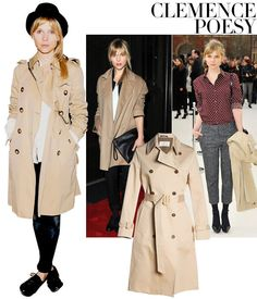 Get inspired by these chic French girls in honor of Bastille Day. Indie Fashion, Girl Fashion, Fashion Outfits, Womens Fashion, French Women Style, French Girls, Clémence Poesy, Kinds Of Clothes, Fashion Articles