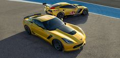 2015 Corvette Z06: Supercar | Chevrolet LOVE, LOVE this in yellow, with the black of course!!