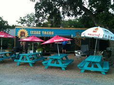 Mellizoz Tacos in Austin, TX.                   Look for the food trucks and you'll find this little jewel.