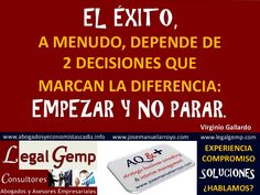 Decisiones infalibles para el éxito. www.josemanuelarroyo.com