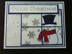 Happy snowman!   Gina K. Designs