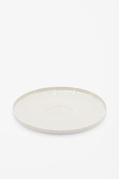 Porcelain saucer