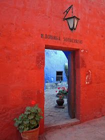 sconzani's world odyssey: Arequipa, white city of churches