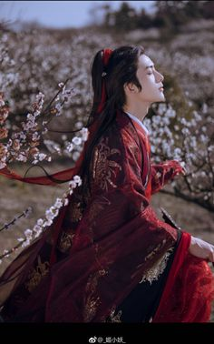 Chinese Traditional Costume, Traditional Fashion, Traditional Dresses, Chinese Man, Chinese Style, Hanfu, Ancient Beauty, Fantasy Photography, Most Handsome Men