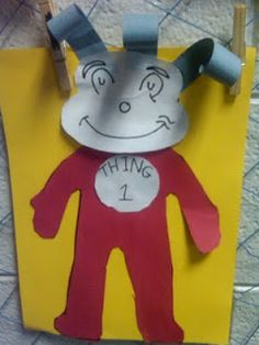 Thing 1, Dr. Seuss art