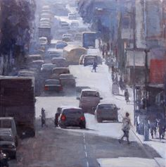 Finalist December 2011 Award Sponsor: FASO Judge: James Crandall Urban Aria by Terry Miura 24 x 24 Oil Your Paintings, Landscape Paintings, Urban Painting, Painting Competition, Sketch Painting, Urban Life, Online Painting, Urban Landscape, Art Oil