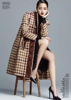 koreanmodel:  Hyoni Kang by J. Dukhwa for Style Chosun Nov 2015