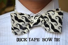 bowtie from duct tape