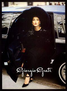 CARLA BRUNI Giorgio Grati Ad 1994