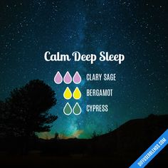 Calm Deep Sleep — Essential Oil Diffuser Blend