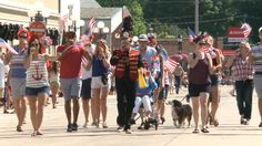 4th of July parade and festivities in Clear Lake