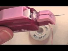 (10) How To Use the Sewline Sure Guide Threader - YouTube