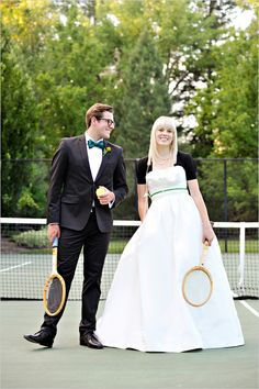 Couldnt decide whether this should go on my tennis board or wedding board.. too cute