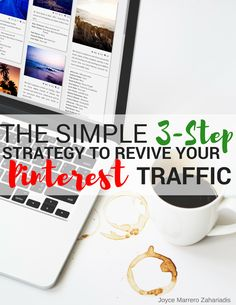 Learn how you can start bringing back your Pinterest traffic with these step by step easy guide!