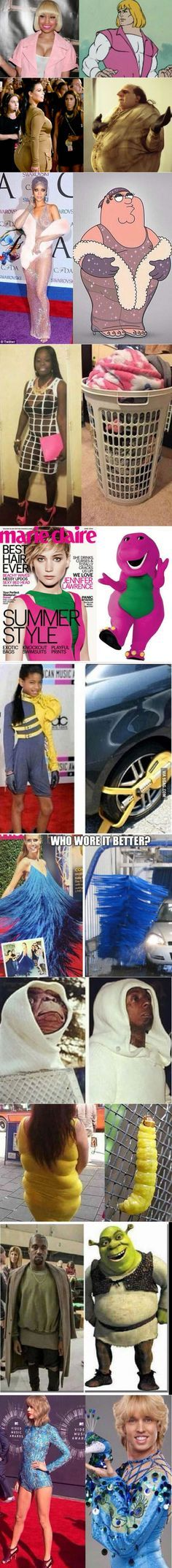 Who wore it better?qqa