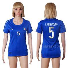 http://www.xjersey.com/italy-5-cannavaro-home-women-euro-2016-soccer-jersey.html Only$35.00 ITALY 5 CANNAVARO HOME WOMEN EURO #2016 SOCCER JERSEY #Free #Shipping!