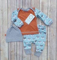 Vintage fox//Newborn coming home outfit//Baby boy//liltrendiesboutique