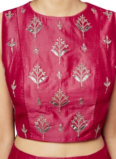 Indian Fashion Designers - Anita Dongre - Contemporary Indian Designer - The Bandhitra Lehenga - Embroidery Motifs, Hand Embroidery Designs, Zardosi Embroidery, Embroidery Blouses, Beaded Embroidery, Kurta Designs, Blouse Designs, Dress Designs, Indian Engagement Dress