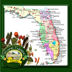 A list of organic farms in Florida.