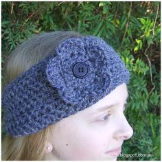 I've been seeing crochet headbands all over Facebook lately, and on a particularly productive weekend decided to try a FitzBirch version. ...